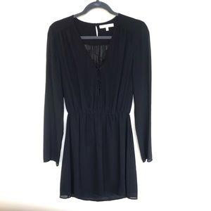 WAYF - Black long sleeve dress